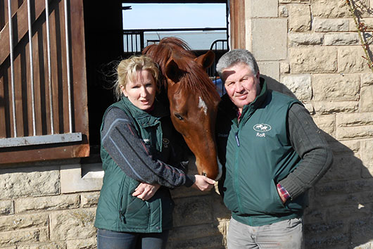 Fred and Rowena Cook of Equine Management and Training
